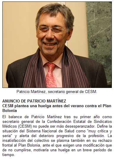 Huelga por Bolonia